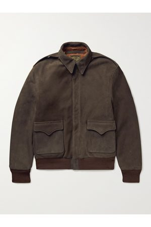 The Real McCoys Type A-2 Suede Jacket