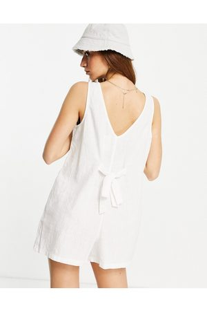 Cotton On Tie back sleeveless playsuit in