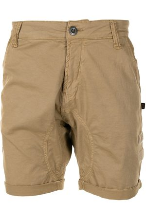 Alpha Industries Logo-embroidered chino shorts