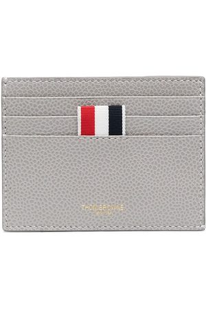 Thom Browne Men Wallets - Wallet with signature stripe detail