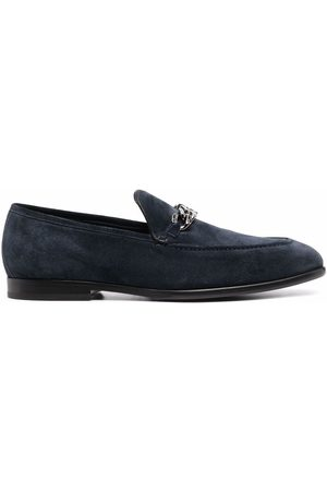 Jimmy Choo Men Loafers - Marti suede loafers