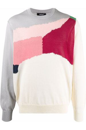UNDERCOVER Colour-block knitted jumper