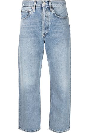 AGOLDE 90's crop mid-rise jeans