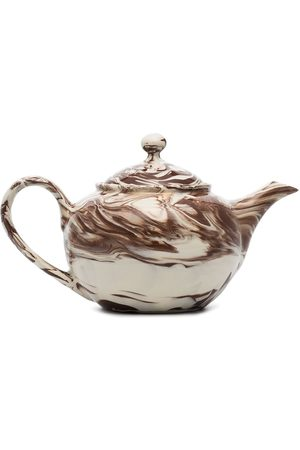 Hay Marble-effect teapot