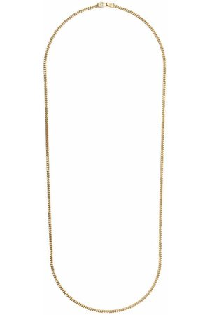 TOM WOOD Curb chain -plated sterling silver necklace