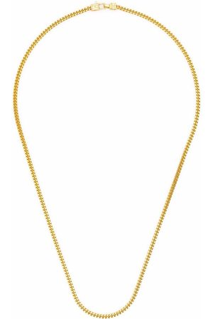 TOM WOOD Curb Chain M -plated sterling silver necklace