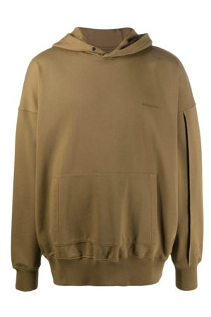 A Cold Wall Dissection hoodie olive