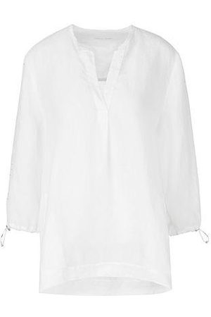 Marc Cain RAMIE TUNIC WITH EMBRODERIE SLEEVE
