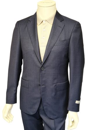 CANALI Dark Micro Check Modern Fit Suit - 13280/31 BF01501.304