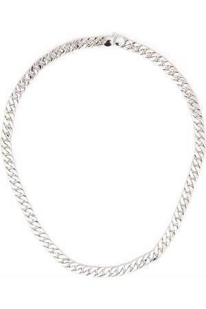 TOM WOOD Curb 7 chain necklace