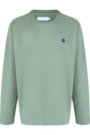 Off-Duty Smiley-motif long-sleeved T-Shirt