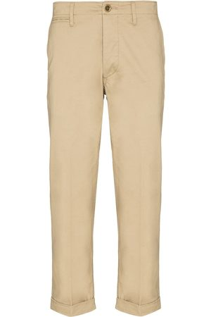 VISVIM High Water cropped trousers