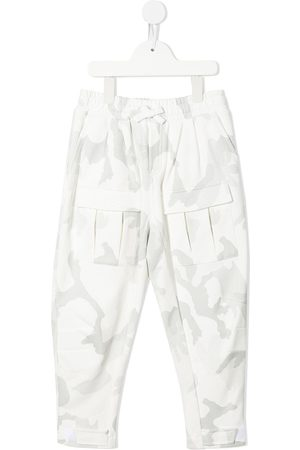 Dolce & Gabbana Camouflage-print trousers