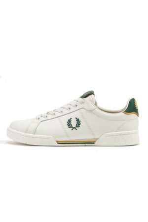 Fred Perry Authentic B722 Leather Sneaker Green