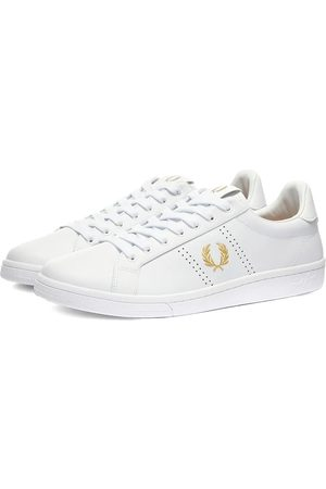 Fred Perry Men Sneakers - Authentic Leather Sneaker & Gold