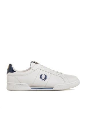 Fred Perry Authentic B722 Leather Sneaker Blue
