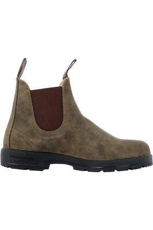 Blundstone MEN'S 585RUSTICBROWN SUEDE ANKLE BOOTS