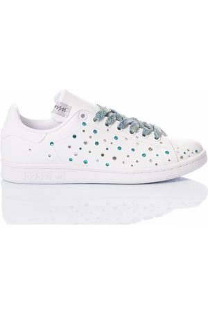 Adidas Women Sneakers - WOMEN'S STANSMITHAQUA2026 LEATHER SNEAKERS