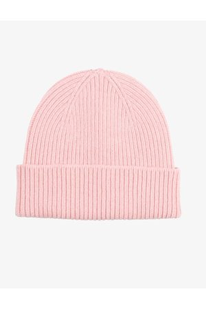 Colorful Standard Merino Wool Beanie Hat - Faded Colour: Faded Pi
