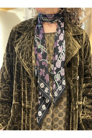 Rockins Snakes and Ladders Classic Skinny Scarf in