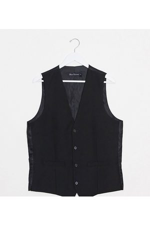 French Connection Tall slim fit tuxedo waistcoat