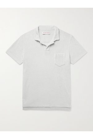 ORLEBAR BROWN Slim-Fit Cotton-Terry Polo Shirt