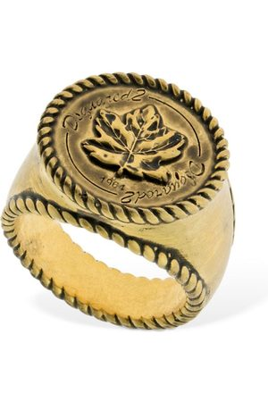 Dsquared2 Logo Thick Ring