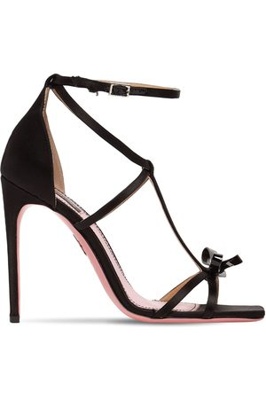 Dsquared2 110mm Satin & Patent Leather Sandals