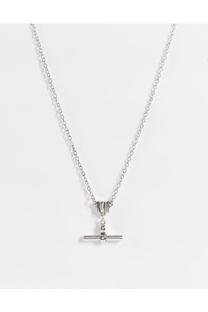 Icon Brand Men Necklaces - T-bar necklace in