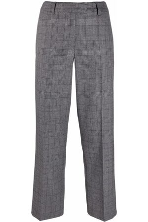 A.P.C. Cece checked straight suit trousers