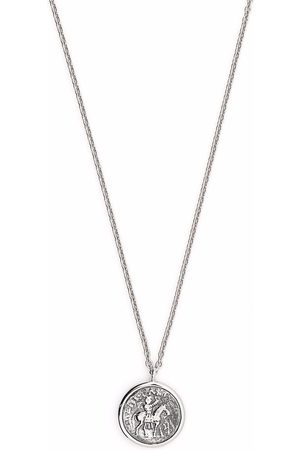 TOM WOOD Necklaces - Coin pendant sterling necklace