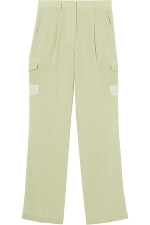 Burberry Women Cargo Pants - Mid-rise cargo trousers