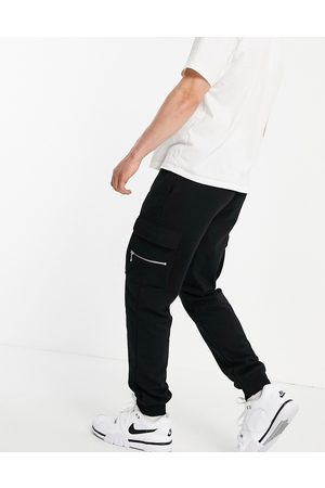 River Island Men Tracksuit - Slim fit cargo joggers in