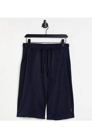 French Connection Men Chinos - Tall shorts in navy