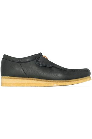 Clarks Men Shoes - Wallabee leather lace-up shoes