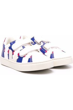 Veja Boys Sneakers - Touch-strap low-top trainers