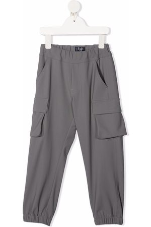 Il gufo Cargo Pants - Elasticated cargo trousers
