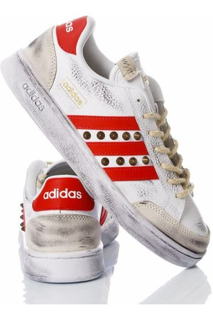Adidas MEN'S REDHOUR2043 LEATHER SNEAKERS