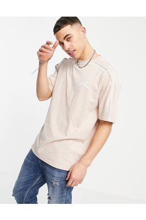 New Look NLM co-ord embroidered t-shirt in