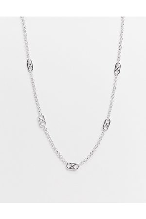 Icon Brand Chain infinity necklace in