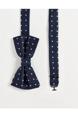 French Connection Dotted bow tie
