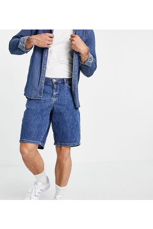 New Look Loose fit denim shorts in