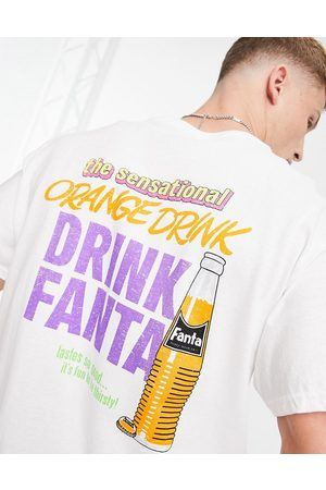 New Look Oversized t-shirt with fanta print in