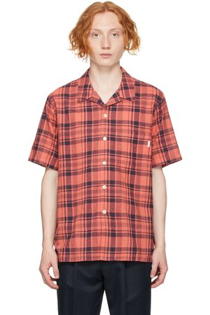 PS by Paul Smith Linen Check Short Sleeve Shirt
