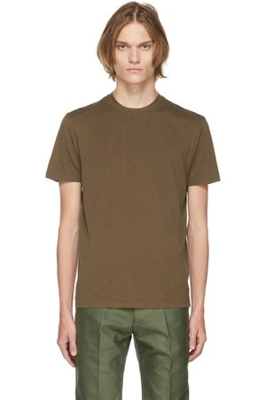 TOM FORD Brown Jersey T-Shirt