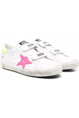 Golden Goose Old School Star-patch low-top leather sneakers