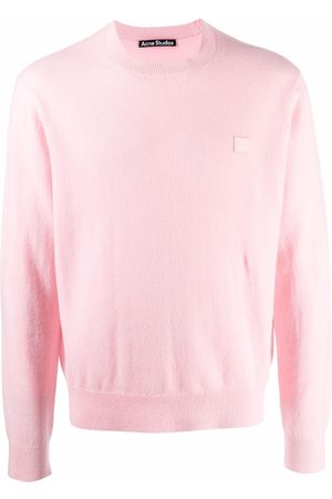 Acne Studios Jumpers - Face patch jumper