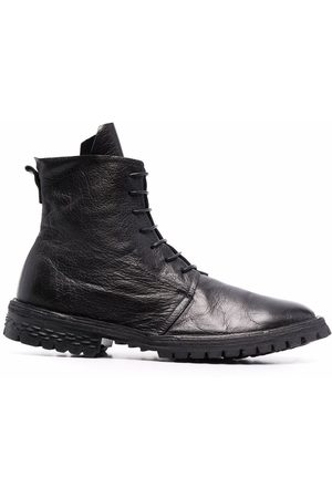 Moma Lace-up leather boots