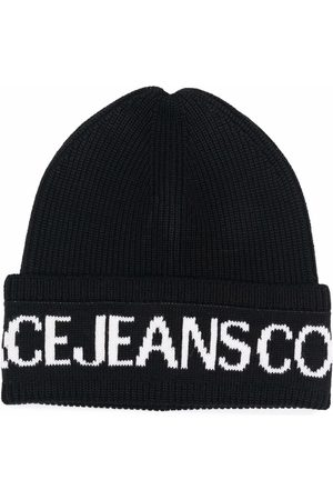 Versace Jeans Couture Logo-print beanie