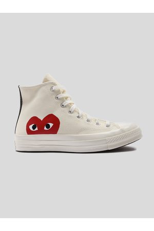 Comme des Garcons Play Accessories - Play Red Heart Converse Chuck All Star '70 High